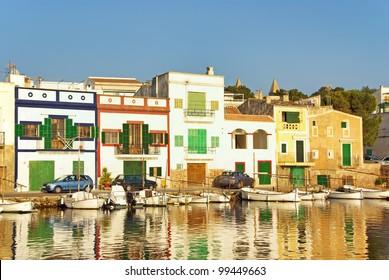 Porto Colom typical seaside village in Majorca (Spain)