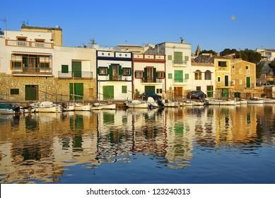 Porto Colom village in Majorca (Spain)