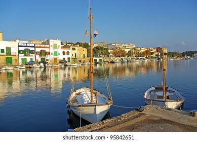 Porto Colom village in Majorca (Spain)