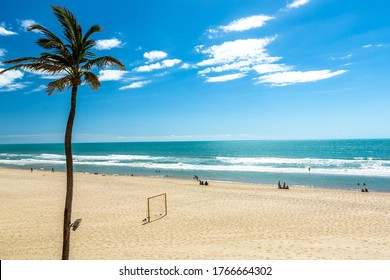 Porto das Dunas beach at the Aquiraz district in Fortaleza, Brazil. South America.
