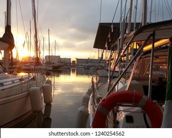 Porto di Genova, barche a vela