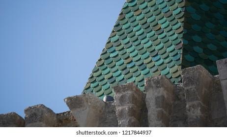 Porto do Mos Castle Spire