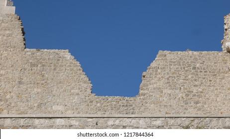 Porto do Mos Castle Wall