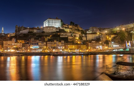 Porto Harbour Night View