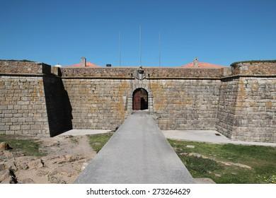 "Porto, Portugal: Forte de Sao Francisco Xavier or Castelo do Queijo (""Cheese Castle""), built in 1661 by Miguel l'Ecole."