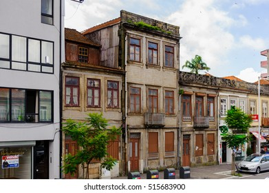 PORTO, PORTUGAL - JUN 21, 2014: Colourful Architecture of Porto, the second largest city in Portugal and it was called the European Culture Capital in 2001