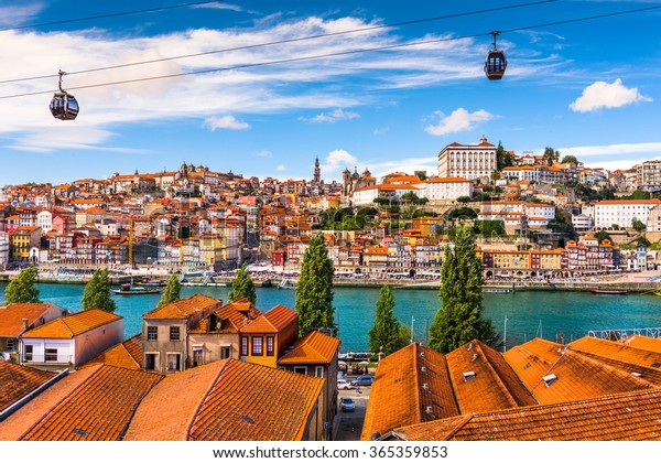 Porto Portugal Old Town On Douro Stock Photo Edit Now 365359853