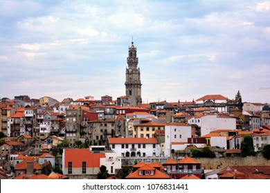 Porto, Portugal, Tower of the clergy, church