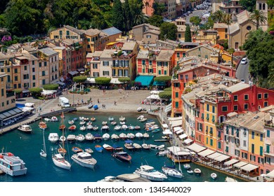 Portofino. Aerial view of the city.