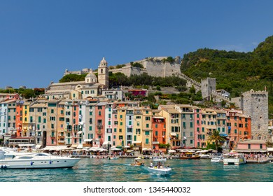 Portovenere. Old seaside town.