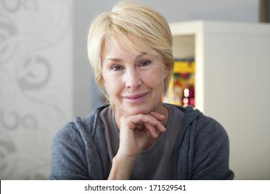 Portrait Of -65 Yr-Old Woman