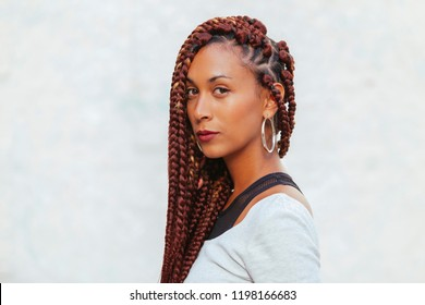 portrait of an african american woman