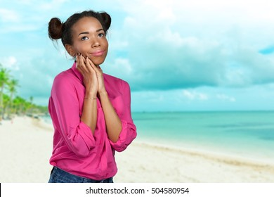 portrait of african american woman