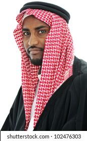 Portrait of an arab man, Sheikh