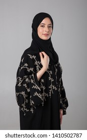 Portrait of an Arab woman.