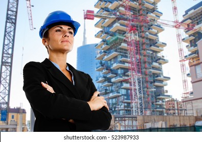 Portrait of an architect at work