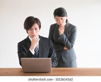 portrait of asian business team