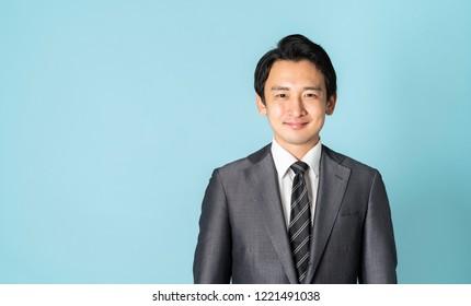 Portrait of a Asian businessman.