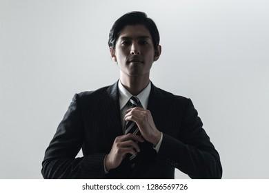 Portrait of an asian businessman.