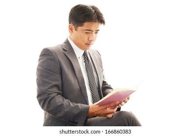 Portrait of an Asian businessman