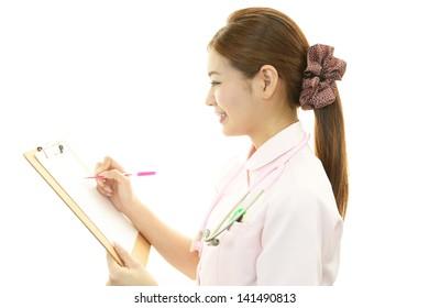 Portrait of  Asian female nurse
