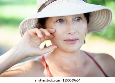 Portrait  Asian Senior Woman