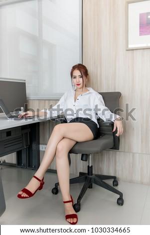 Sexy asian office girls