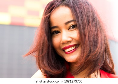 portrait asian woman indonesia