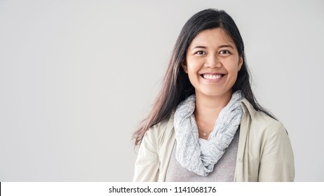 Portrait of asian young woman