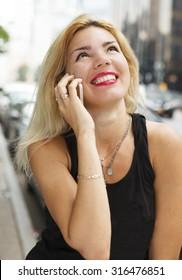Portrait of an attractive confident mature woman.
