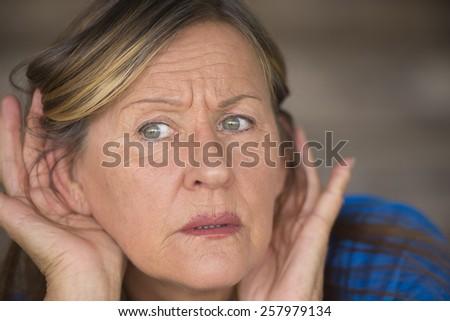 Attractive mature gets a facial