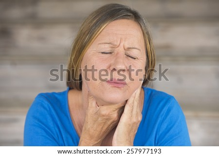 Mature throat