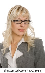 Portrait of an attractive young businesswoman.