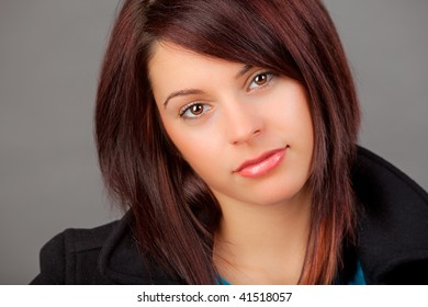 A Portrait of an attractive young woman.