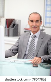 Portrait of a bank director