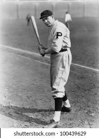 Portrait of batter