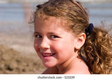 portrait at the beach