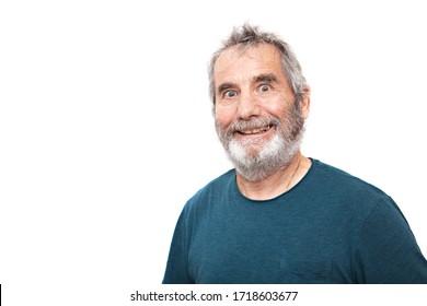portrait of bearded old man