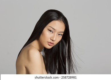 Portrait of beautiful Asian girl