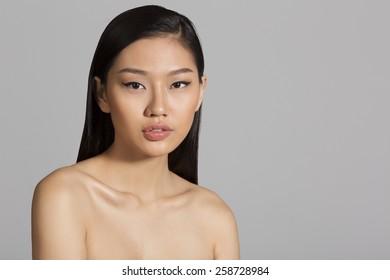 Portrait of beautiful Asian girl