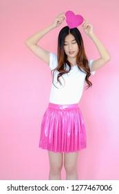 Would like teen mini skirt pink sorry