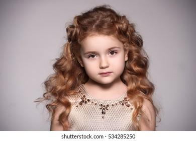 Beautiful Baby Girl Looking Like Angel Stock Photo Edit Now