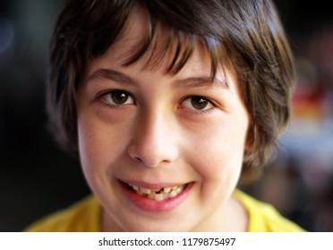 Portrait of a beautiful boy.