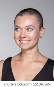 Sexy Bald Girl