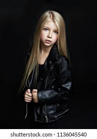 portrait of the beautiful child