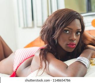 Ebony camgirl