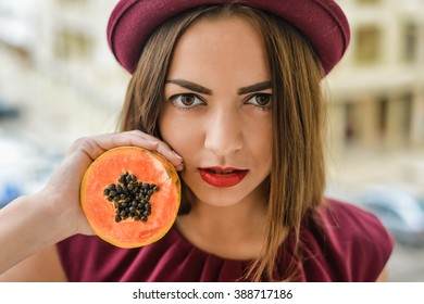Image result for papaya face