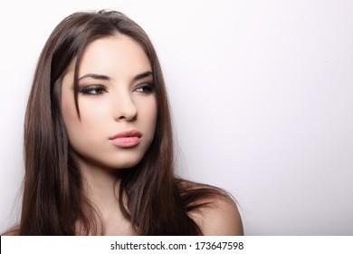 A portrait of beautiful girl.