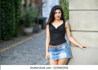 portrait of a beautiful indan woman