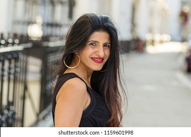 portrait of a beautiful indian woman